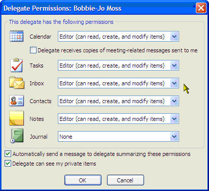 Shared Mailbox access configuration from Microsoft Outlook 2007 with Fluccs Hosted Exchange, Then, set the selected staff member's access level to your mailbox.